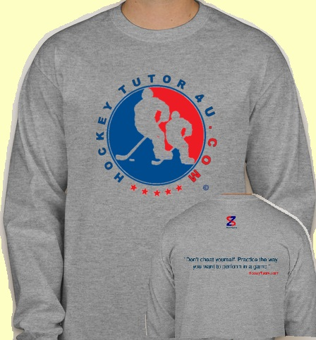 Grey HockeyTutor4u Shirt
