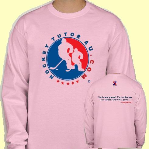 Pink HockeyTutor4u Shirt