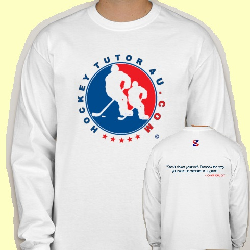 White HockeyTutor4u Shirt